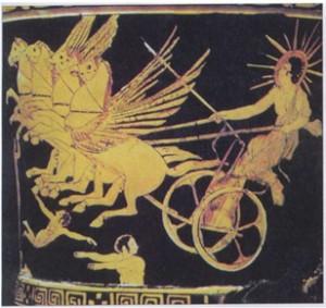 гелиос на колеснице